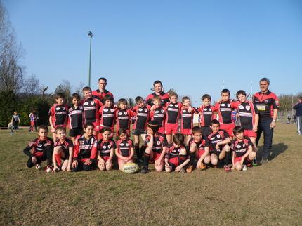 L'école de rugby au tournoi d'Eymeux