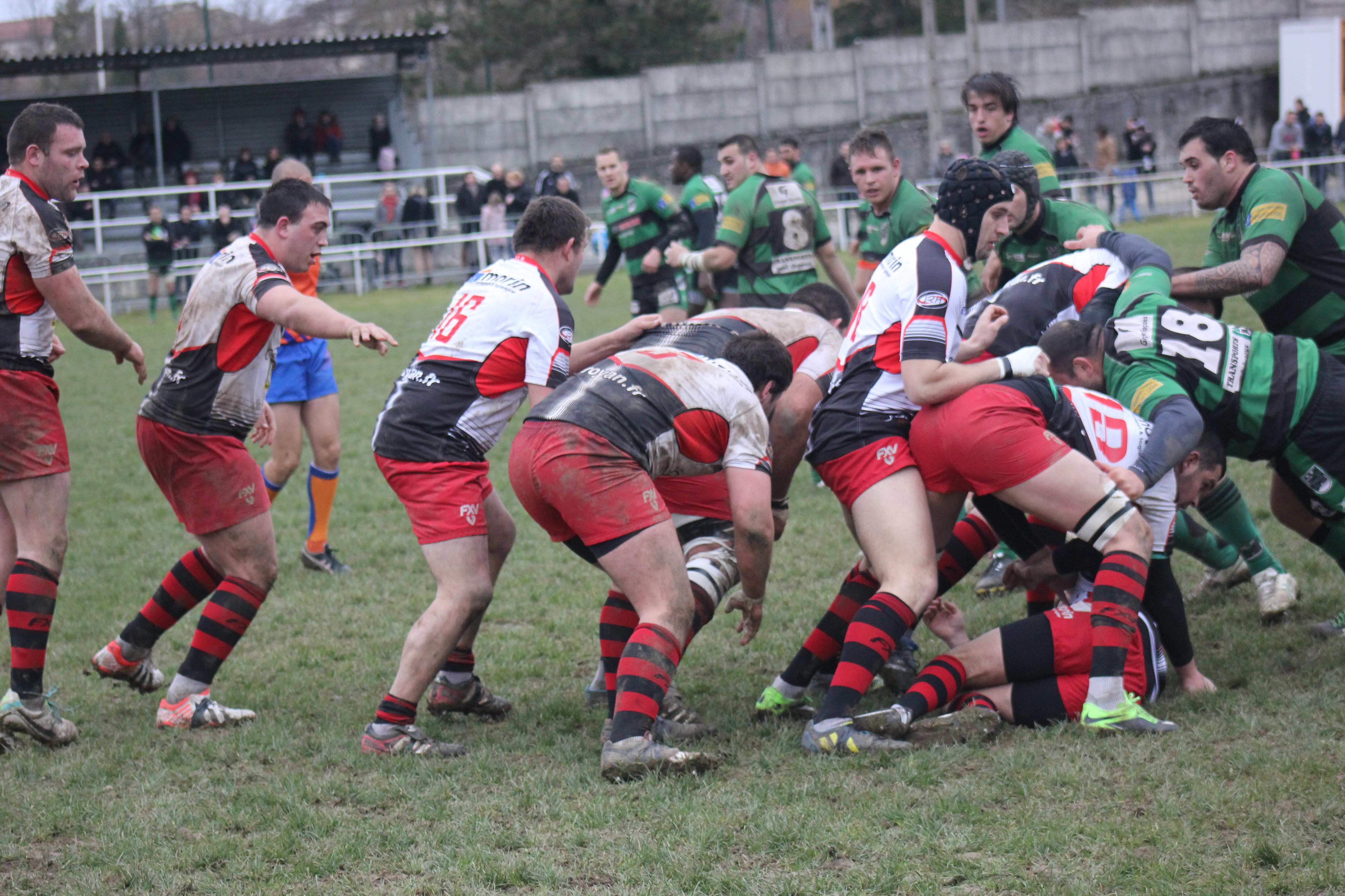 Saint-Jean-en-Royans « Rugby fédérale 2, après SCR-Bédarrides