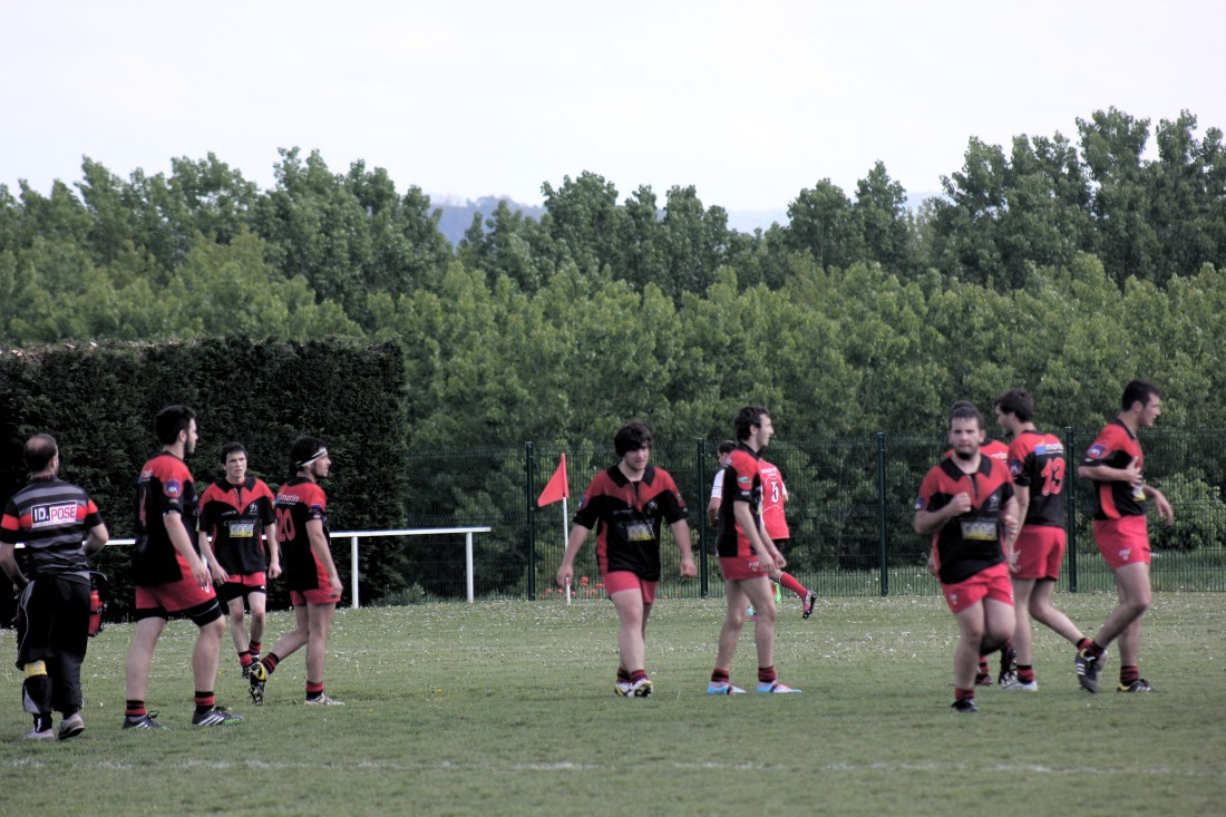 Les Juniors du SCR en ¼ de finale