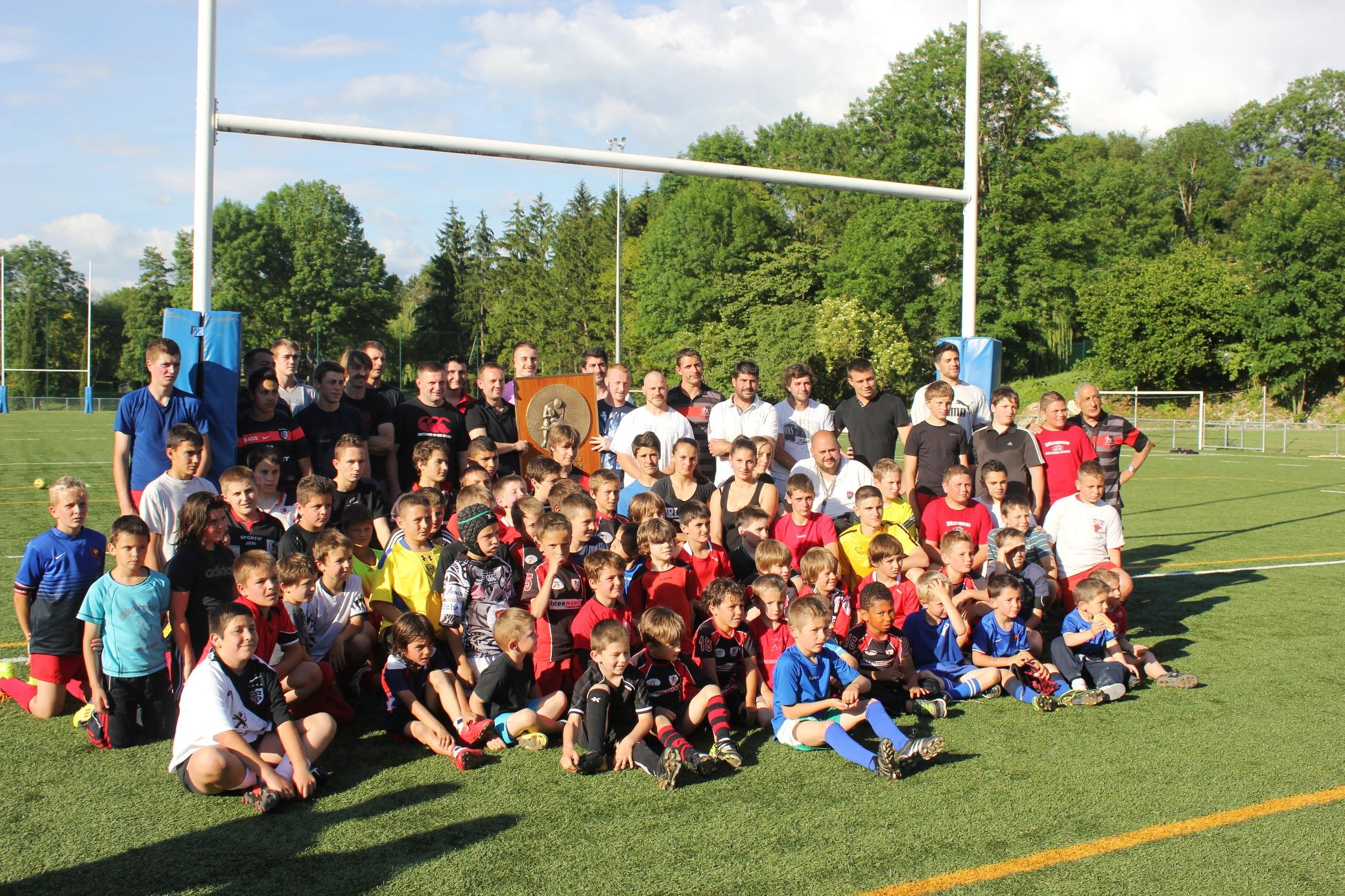 Le Brennus à l'école de rugby
