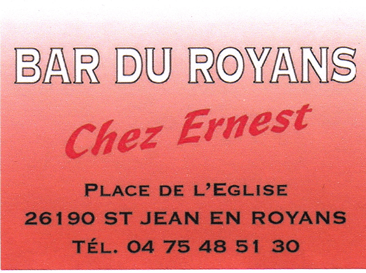 Bar du Royans