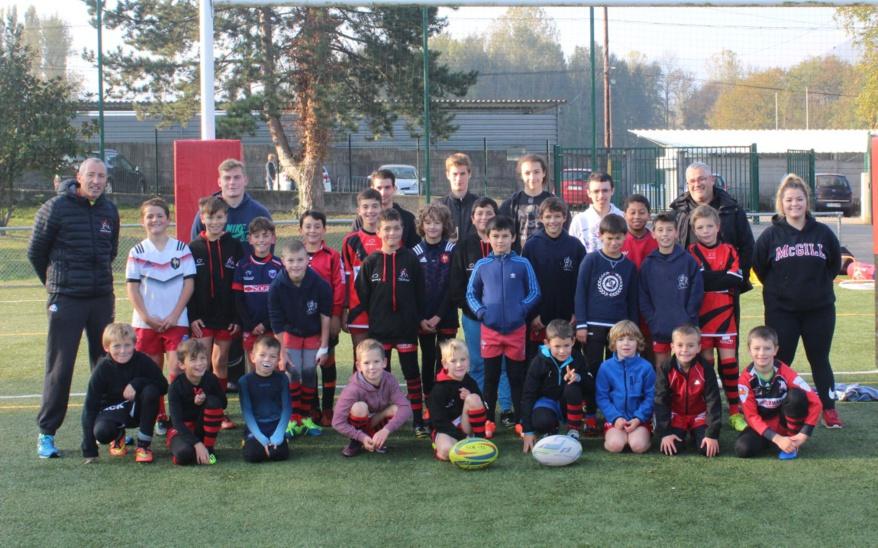 Stage de l'école de rugby du SCR