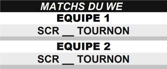 Match du WE