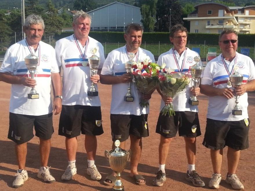 Ils sont champions de France de 3ème Division