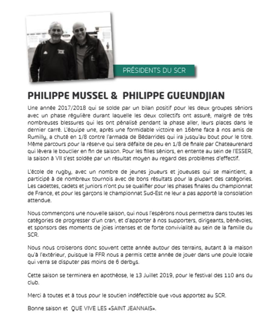 P.Mussel/P.Gueundjian
