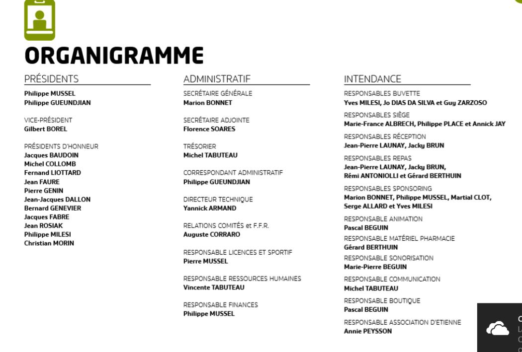 Organigrammes