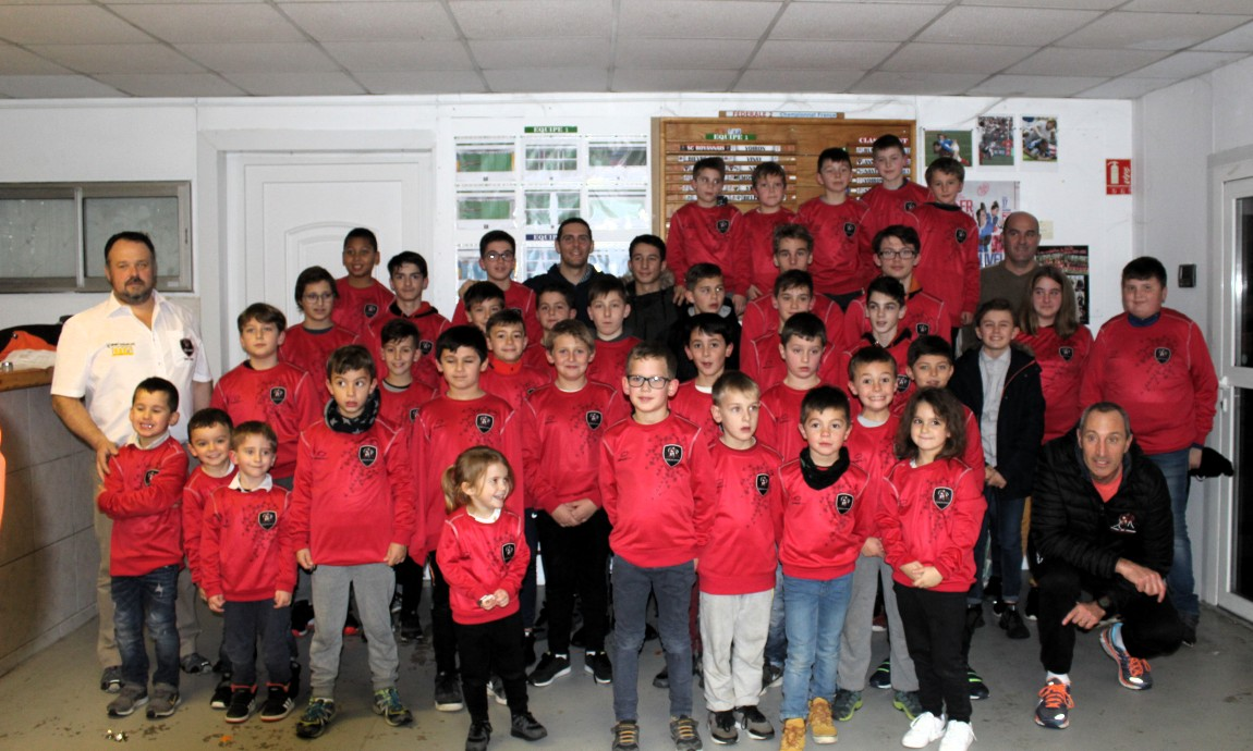Noël à l'école de rugby