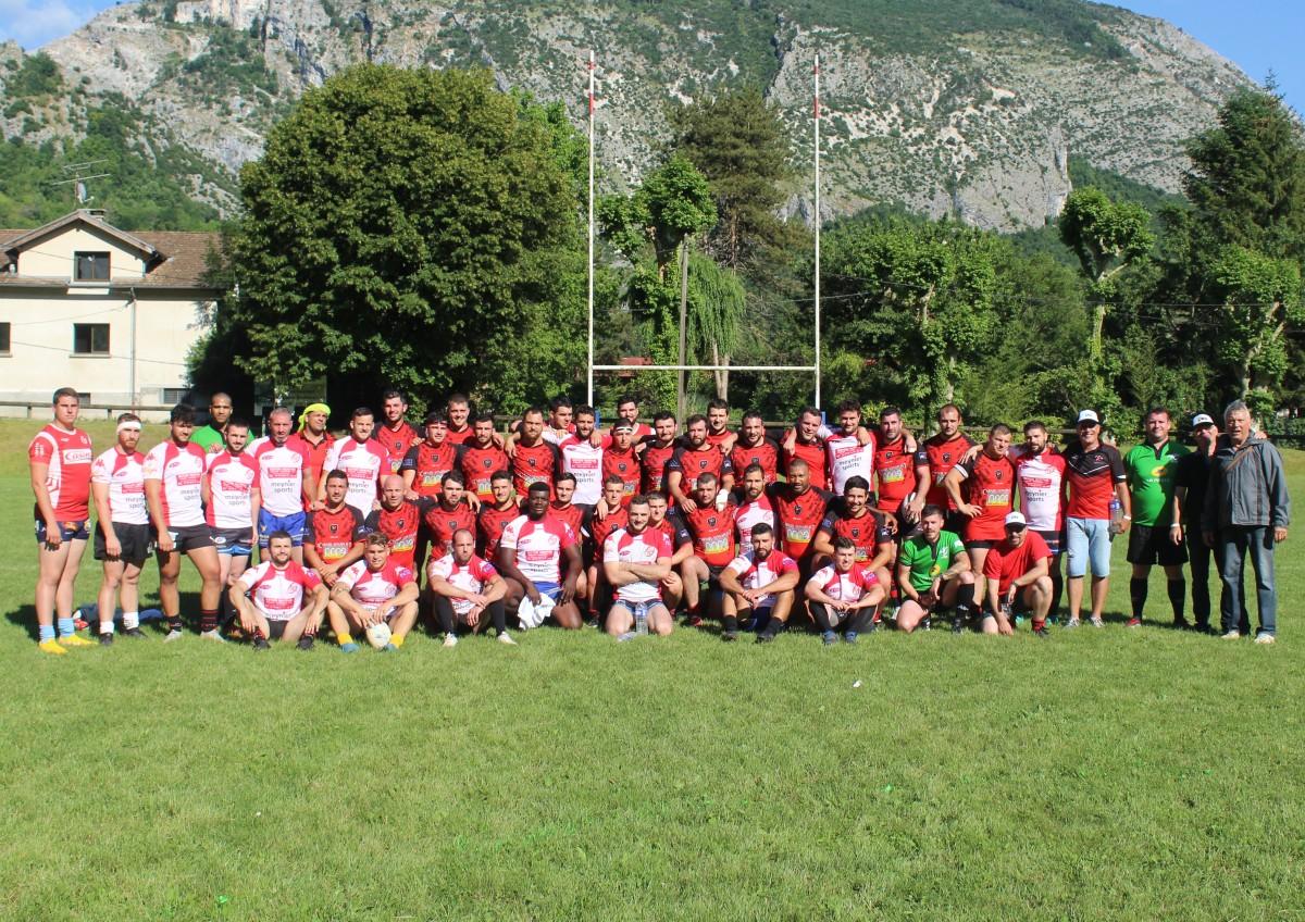 Le SCR au Centenaire du Royans Sports »