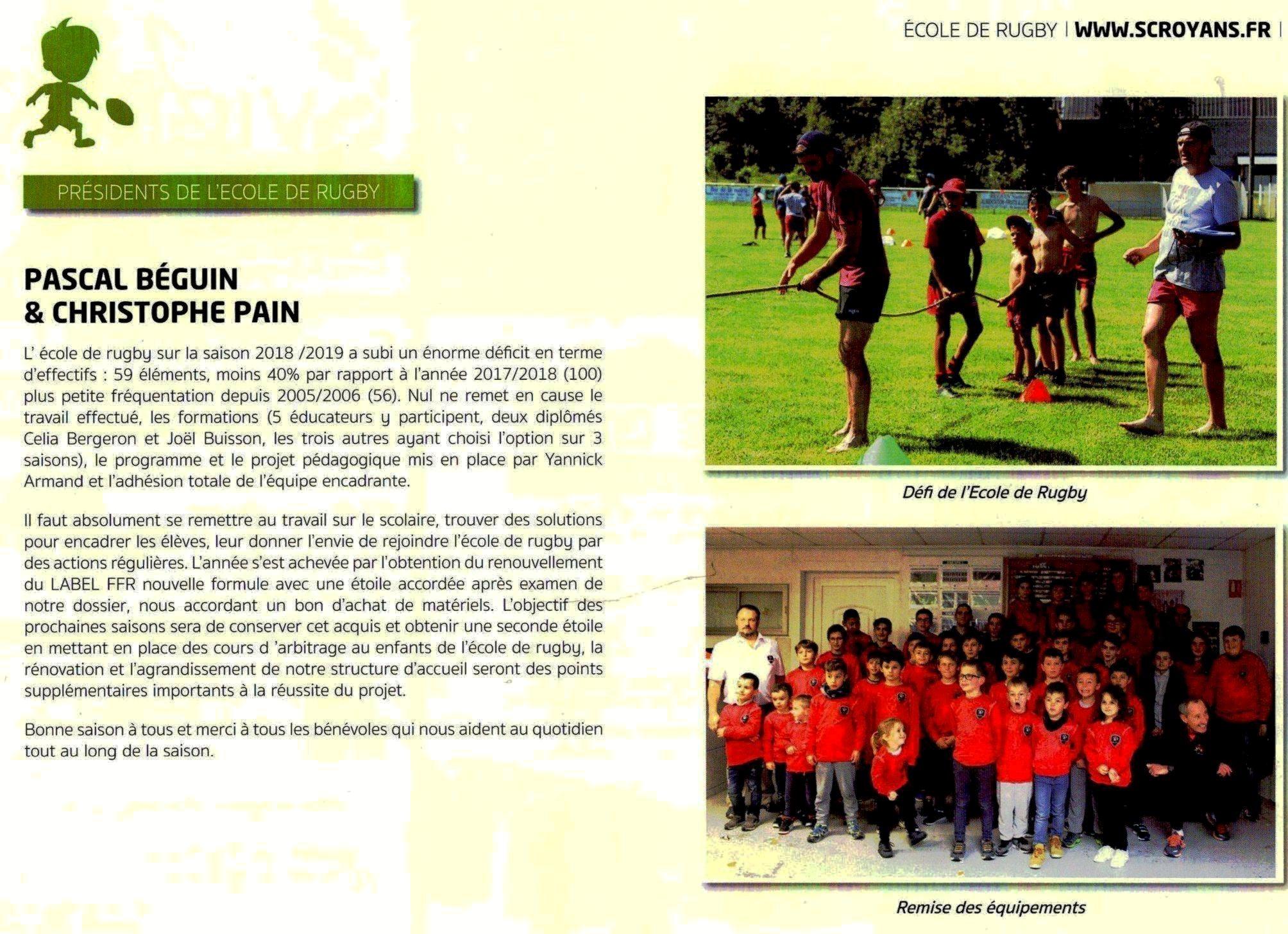 P.Béguin / C.PAIN