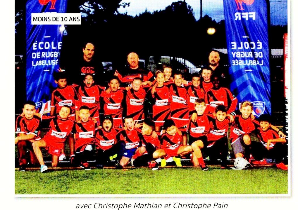 Equipe Moins de 10 ans