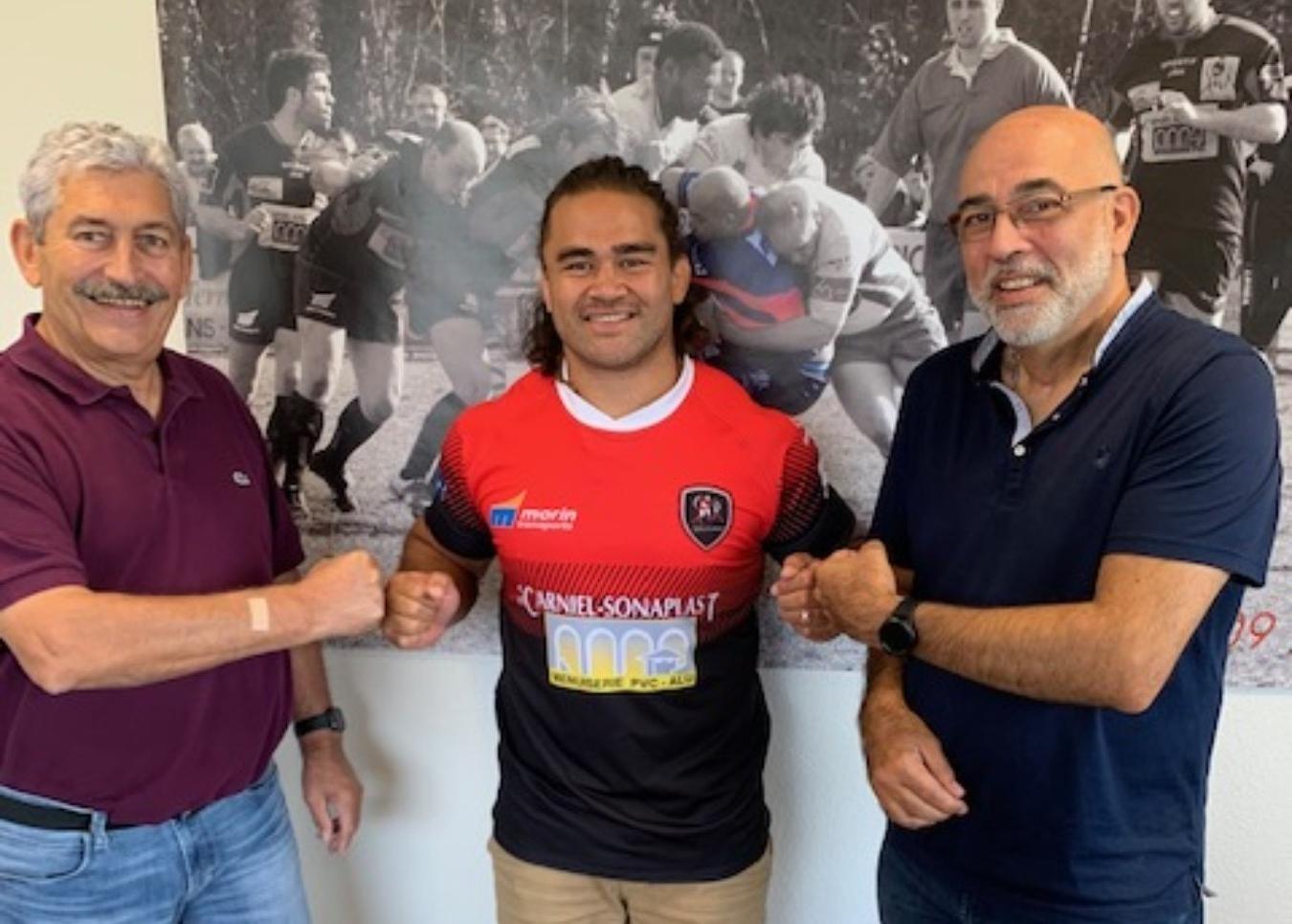 Un Samoan Nigel Hunt au Sporting Club Royannais
